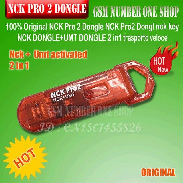 Оригинальный Новый NCK PRO 2 DONGLE / nck pro dongle nck key NCK Dongle Full + UMT 2 в 1
