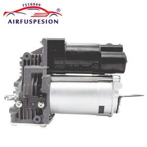 Image 5 - Par frente bomba de compressor ar choque suspensão a ar para mercedes w221 S CLASS 2213201604 2213204913 2213205113 2213201704