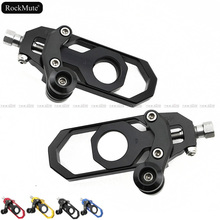 Voor BMW S1000RR 2009 2010 2011 2012 2013 2014 Motorcycle CNC Achter Chain Richters Spanners Met Spool Fit