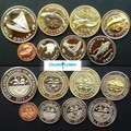 Micronesia 8pieces/ Set UNC original Coin 2012  version