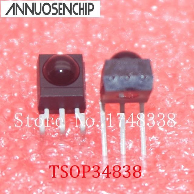 وحدة الاستقبال TSOP34838 V34838 IR جديد الأصلي 50 قطعة/الوحدة