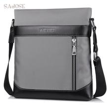 Classic Simple Design Business Man Bag Vintage Brand Messenger Bag
