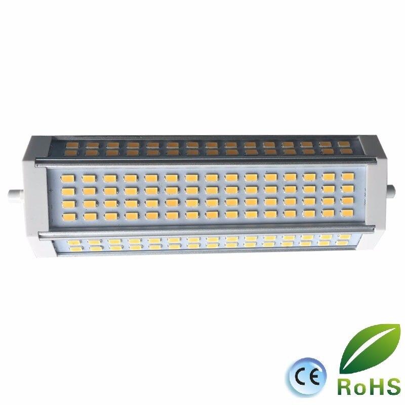 La puissance élevée 50 w a mené la lumière de R7S 189mm avec le ventilateur dedans J189 r7s RX7S a mené la lampe d'ampoule 500 w lampe d'halogène AC110-240V