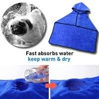 Mikrofaser Handtuch Hund Katze Bademantel Schnell Trocknend Tierscher Decke Tuch Heißer Verkauf
