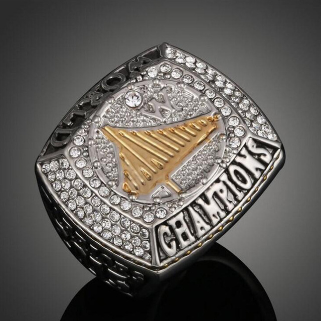 Fashion State Warriors Championship Ring Replica For Men Gold