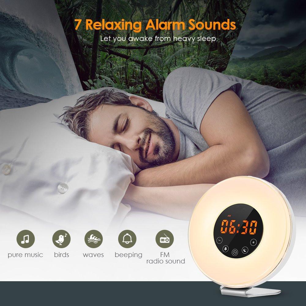 led alarm clock