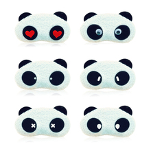 Panda Blindfold Sleep Masks Eye Mask Sleeping Nap Cover Eyeshade 6 style