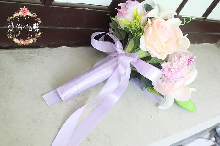 bouquet de mariee blanc rose 5