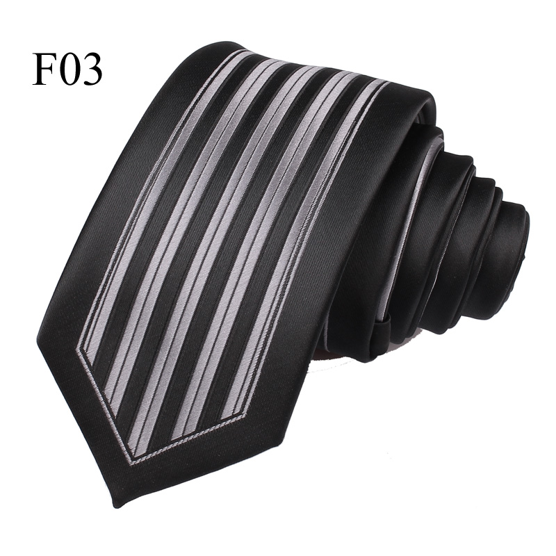 New Jacquard Woven Neck Tie For Males Traditional Examine Ties Trend Polyester Mens Necktie For Wedding ceremony Enterprise Swimsuit Plaid Tie HTB1yFPUn