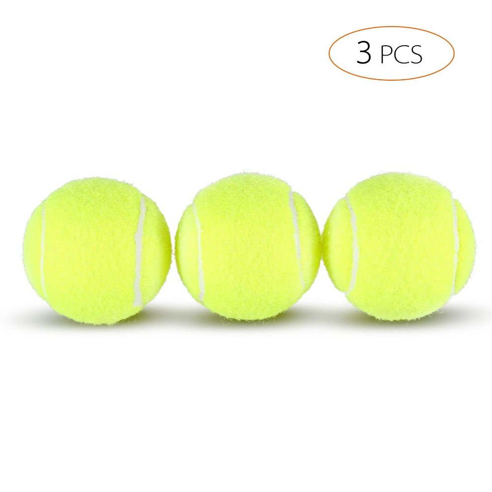 3Pcs Tennis Training Tool Exercise Tennis Balls Reusable Practice Exercise Tennis Balls Training Equipment Competition Tennis