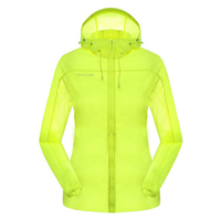 New Summer Anti Uv Suncreen Coat Outdoor Sport Chaquetas Mujer Hiking Camping Cycling Skin Jacket Women