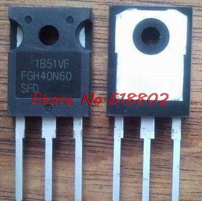 50pcs lot FGH40N60SFD FGH40N60 40N60 variable tube IGBT welder new original In Stock