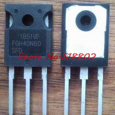 50pcs/lot FGH40N60SFD FGH40N60 40N60 variable tube IGBT welder new original In Stock-in Integrated Circuits from Electronic Components & Supplies