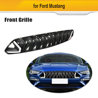 ABS Grille for Ford Mustang 2018 2019 Front Bumper Mesh Racing Grill Car Styling