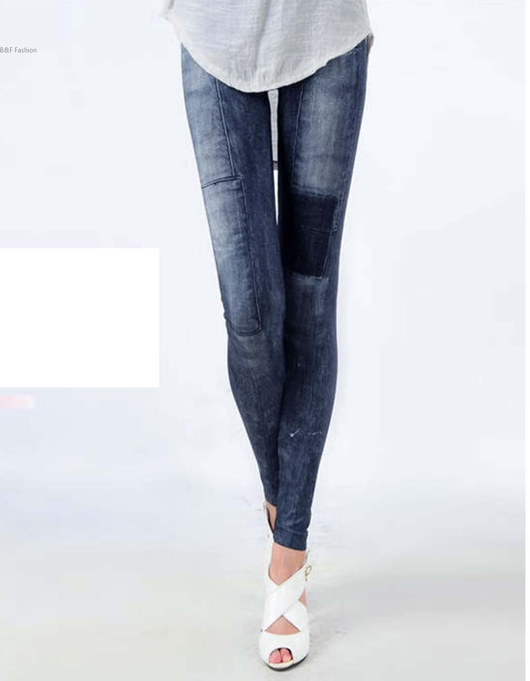 Women Fashion Jeggings Stretch Skinny Leggings Leg wear Pencil Pants Casual Jeans 30 цена 2016