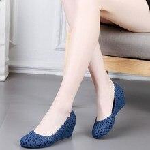 Sandales à talon haut en caoutchouc pour femmes, chaussures creuses, respirantes, nouvelle collection décontracté, été à lacets