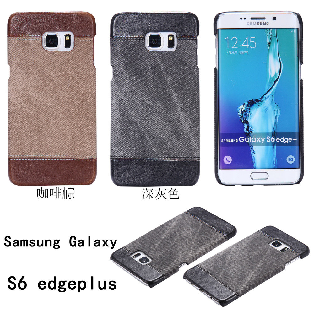 S6 Edge Plus Luxury Jeans Pattern Back Cover For Samsung Galaxy Original 3d Relief Superhero Soft Case Meizu M3s 5 Inch Phone Sansung Sumsung Galaxie Galaksi Etui