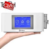 MOYEAH Mini Travel CPAP Machine Portable CPAP Ventilator Medical Machine With Nasal Mask For Sleep Apnea Free 16GB Micro SD Card