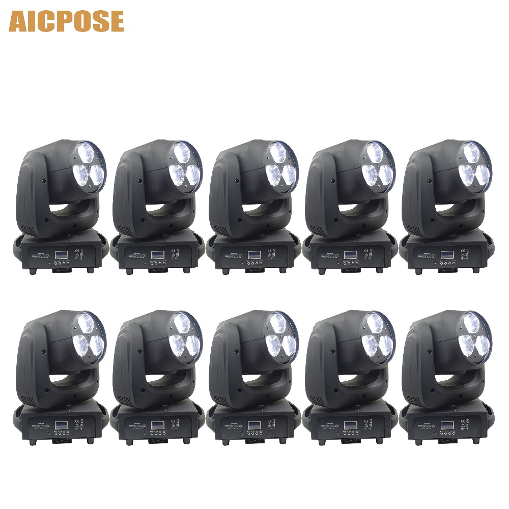 10pcs/lots 3x40W Beam Light RGBW 4IN1 LED Bee Eyes Moving Head Light With Zoom Stage Lights Wedding Disco Party Light10pcs/lots 3x40W Beam Light RGBW 4IN1 LED Bee Eyes Moving Head Light With Zoom Stage Lights Wedding Disco Party Light