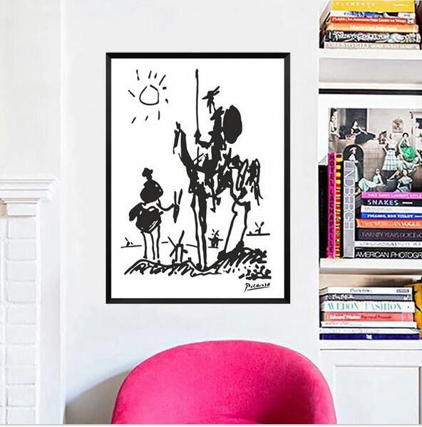 Pablo Picasso Animaux à Peindre Toile Peinture à L Huile