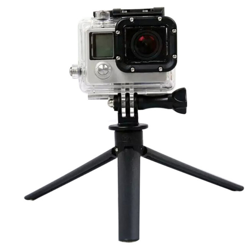 Mini Lightweight Table Top Stand Tripod Black ABS for phone for Sony Selfie Stick Digital Camera, DSLR, Video Camera image