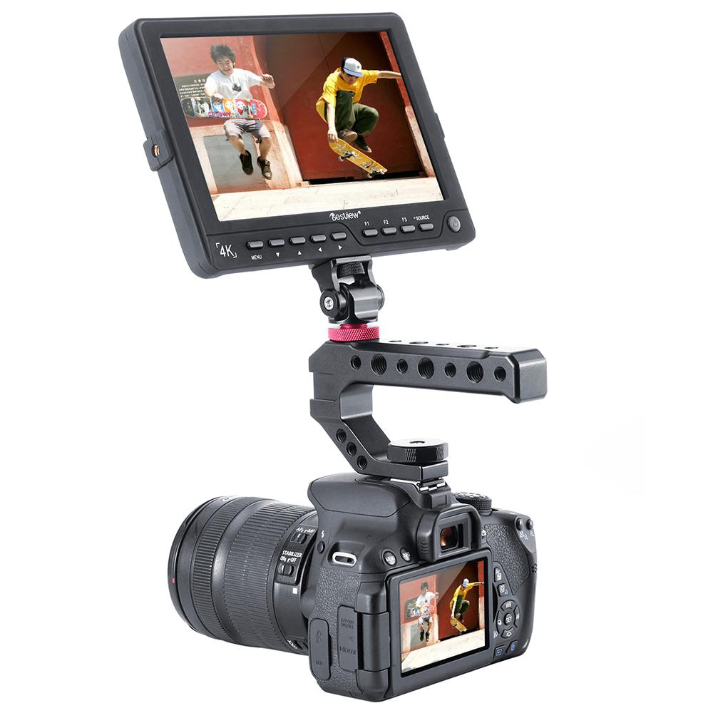 Kuulee R005 DSLR Camera Hot Shoe Mount up Handle Rig for Sony A1000 A2000 Panasonnic GH5 <font><b>GH5S</b></font> Series image