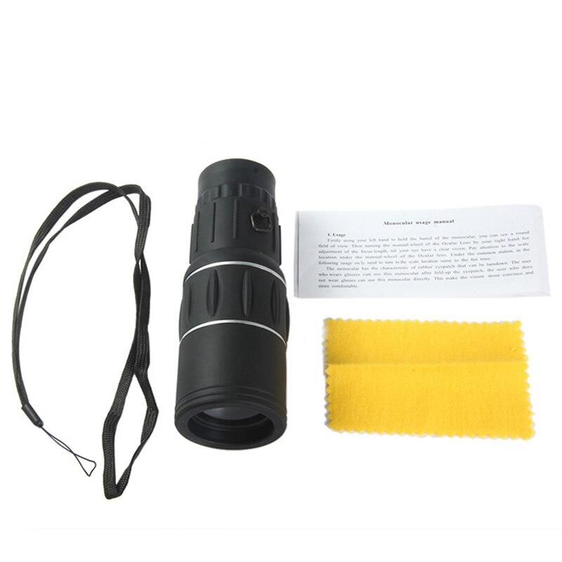 Monocular Telescope Hunting Night-Vision High-Powered Dual-Focus 16x HD