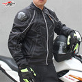 2017 hombres de la Chaqueta de Carreras de Motos de Calle Carretera Protector de Motocross Armadura Equipo de Protección Ropa de Protección Chaqueta JK41