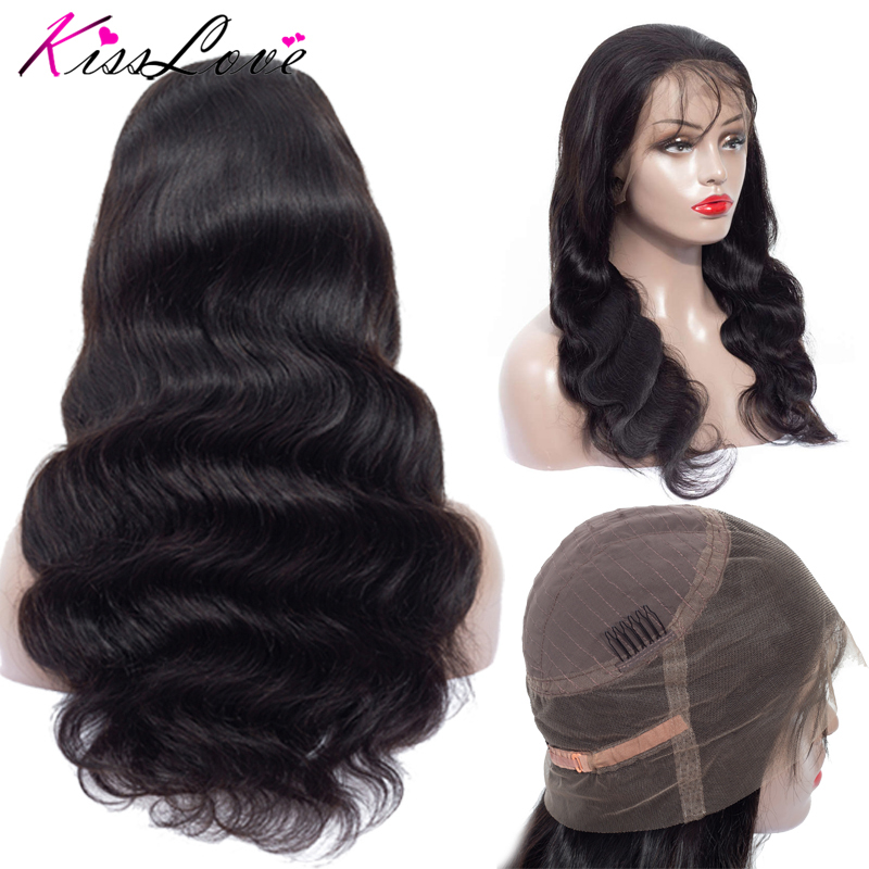 360 Lace Frontal Wigs For Women Pre Plucked Hairline with Baby Hair 10 24Inch Brazilian Body