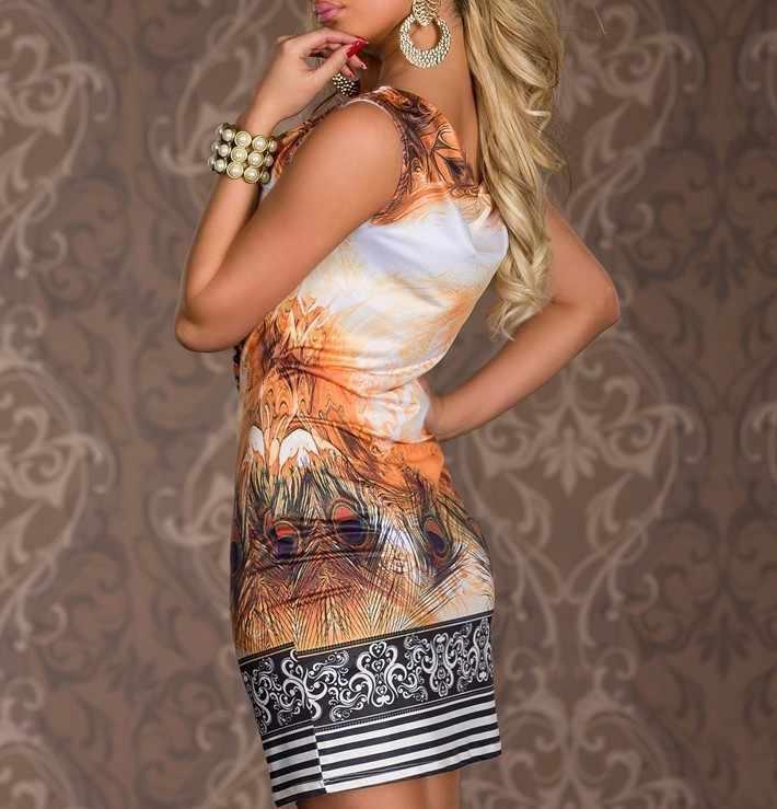 2017 летнее винтажное платье с принтом Тропическое мини-платье леопардовое платье desigual для женщин сексуальное Клубное шифоновое платье без рукавов Vestidos
