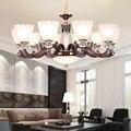 Moderno LED lampadario soggiorno lampada a sospensione In lega di Zinco di apparecchi di illuminazione camera da letto apparecchi di illuminazione per la casa sala da pranzo appendere le luci
