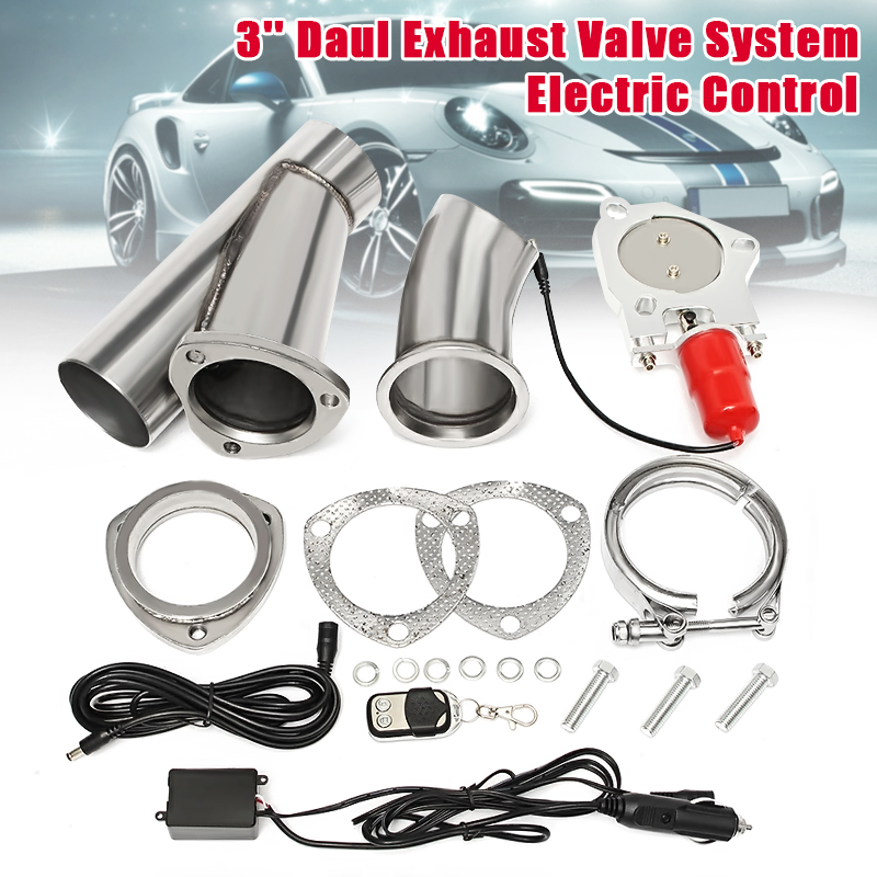 3 Inch Electric Exhaust Valve Catback Down Pipe Systems Kit Remote Intelligent E-Cut recommendation systems for e commerce