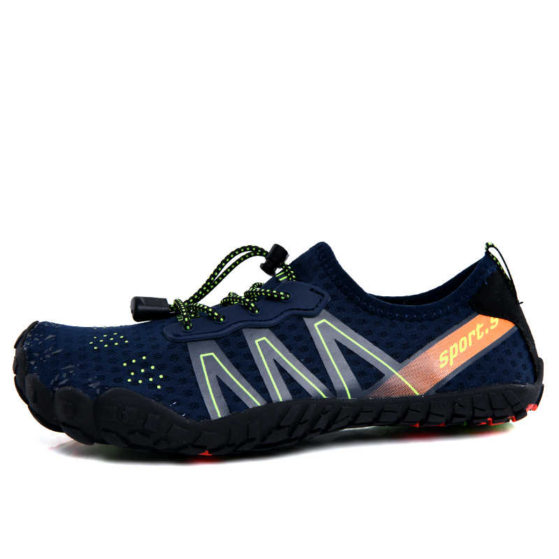 Unisex Wide Toe Minimalist Trail Running Barefoot Shoes Outdoor Sports