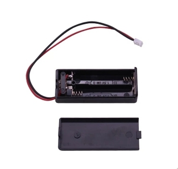 100 pièces 2AAA supports de batterie avec connecteur pour bbc micro peu d