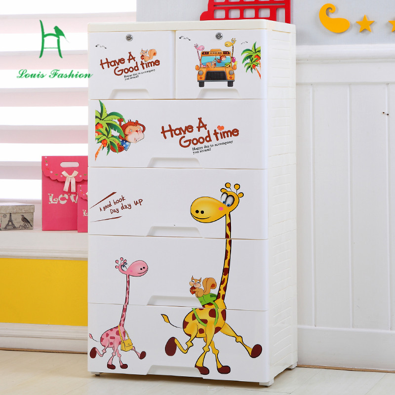 Plastic Drawer Cabinets Cartoon Children Wardrobe Lockers Baby Clothes  Cabinet Box Drawers In Children Cabinets From Furniture On Aliexpress.com |  Alibaba ...