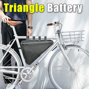 52V Electric Bicycle battery Triangle Battery 52V 10AH 20AH Lithium Battery with BMS and 58.8V 6A Fast Charger ebike Triangle