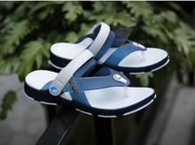 2017 New boot summer sandals, men's slippers casual shoes non-skid youth beach shoes wet hole hole flip-flops shoes #4578