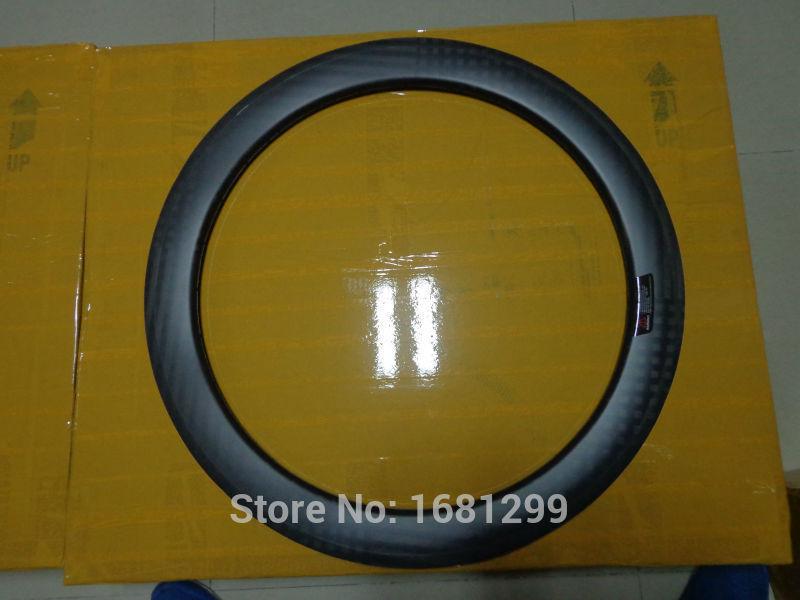 1Pcs Newest 700C 50mm tubular rim lightest Road bicycle matt finish 12K full carbon fibre bike wheels rims Free shipping 2016 newest road bike t800 matt ud full