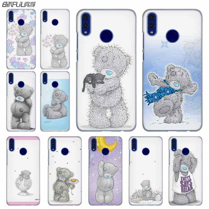 Fashion luxury Phone cose cover for Huawei Honor 10i 8 8X 9X 10 Lite 4C 5X 6 6X 6C 7a 20 Pro 7X Tatty Teddy Me To You Bear