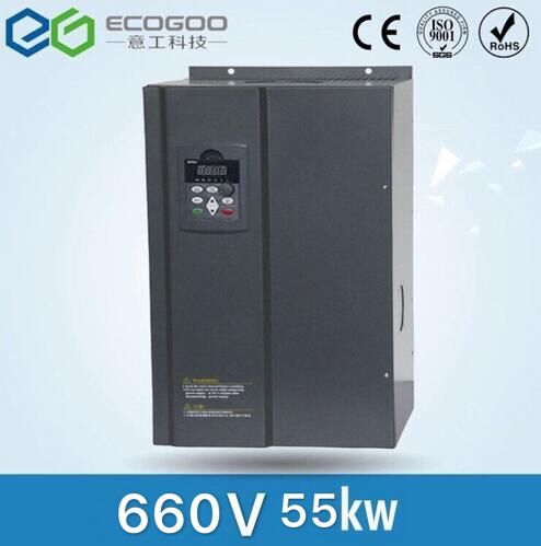 3 phase 660V 55KW Frequency inverter/frequency converter/ac drive/AC motor drive 3 phase 380v 110kw frequency inverter frequency converter ac drive ac motor drive