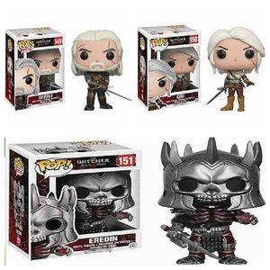 pop The Witcher 3 - Wild Hunt: Eredin Geralt CIRI PVC Action Figure Collectible Model Toys in Original Box