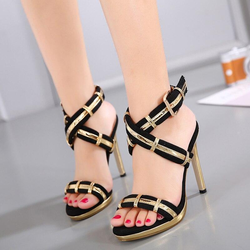 Verantwortlich Frauen Sandalen Mode Sommer Schuhe Frauen Gladiator Sandalen Sommer Strand Schuhe Weibliche Damen Sandalen Zapatos Mujer Schwarz Jan14 Schuhe