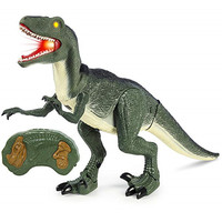 Remote Control Walking Dinosaur Toy for Kid Model Eyes Light Up Sound Action Figure Electric Toy RC Animal Pet Christmas Gift