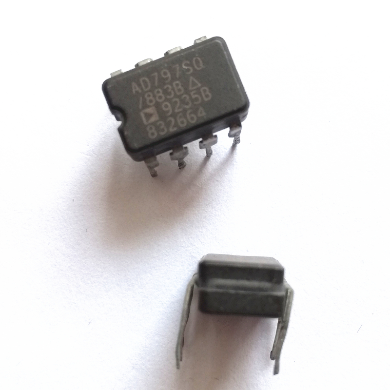 1 Piece  AD797 AD797SQ Single Op Amp Replaceable LME49990MA OPA627BP NE5534 Second-hand Op Amp Not New