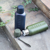 500ML Outdoor Sports Bottle Water Cup Stainless Steel Vacuum Insulated Tea Coffee Mug Travel Camping Hiking