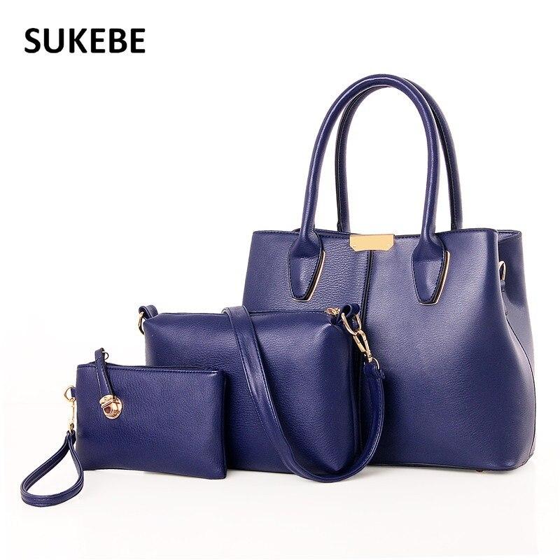 New Fashion Luxury font b Handbags b font Women Bags Designer PU Leather Women Messenger Bags