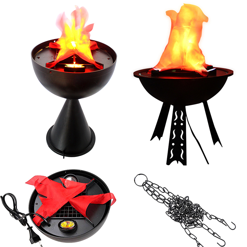 Simulation Flame Light for Halloween Decoration Brazier Light Festival Party Decor Hanging/standing Artificial Fake Fire Brazier