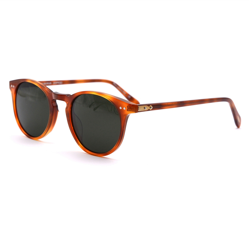 oliver peoples vintage ronud sunglasses women funny glasses clear frame with polaroid lens ov5256 Sir O 'malley sun glasses