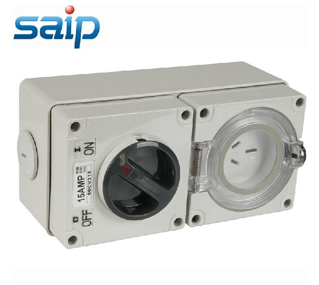 Sp 56cv315 Ip66 Industrial Outdoor Socket Electrical 3 Pin