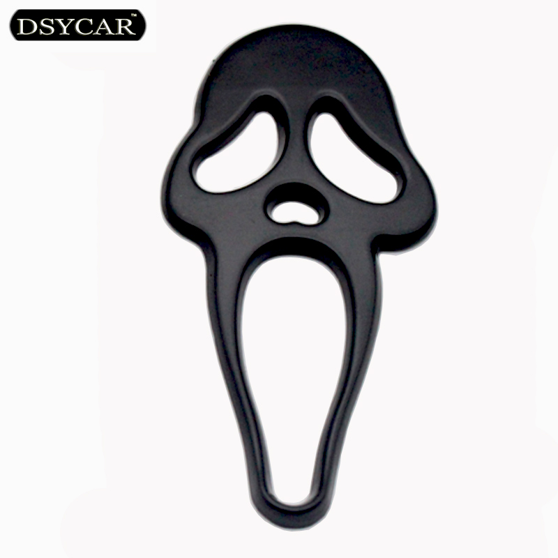 DSYCAR 3D Metal Skull Moto Car stickers Logo Emblem Badge Car Styling For Fiat Audi Ford Bmw VW Toyota Jeep volvo Peugeot mazda